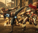 Kunglao vs. Kotal Kahn Mortal Kombat X