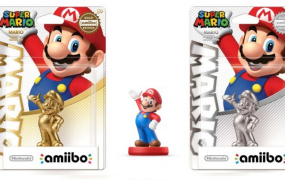 The Gold Mario Amiibo is nearly selling for its weight in gold on eBay.