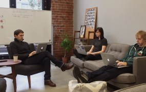 Mode Analytics' San Francisco office.