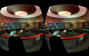 Oculus in the Enterprise -- the U.S.S. Enterprise, that is.