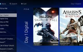 The PlayStation Store on PS4.