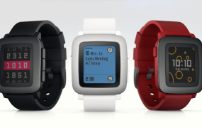 The all-new Pebble Time
