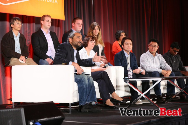 Pivotal data scientists speak at VentureBeat's 2013 DataBeat/Data Science Summit event .