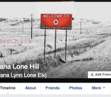 Author Dana Lone Hill's Facebook account was recently suspended under the social network's real-names policy.