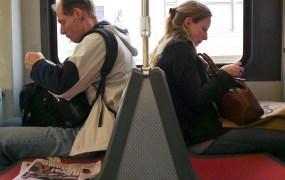 Texting on transit