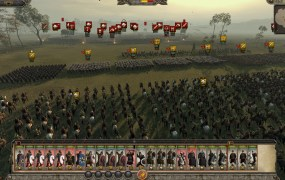 Total War: Attila. A massive battle.