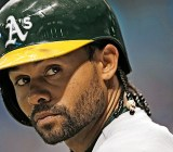 Coco Crisp. Not pictured: his cousin Count Chocula.