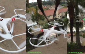 The Adnear drone over LA