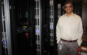 Jai Menon, chief research officer, at Dell's research facility in Silicon Valley.