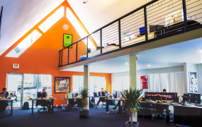The offices of Startups.co, in Columbus, Ohio.