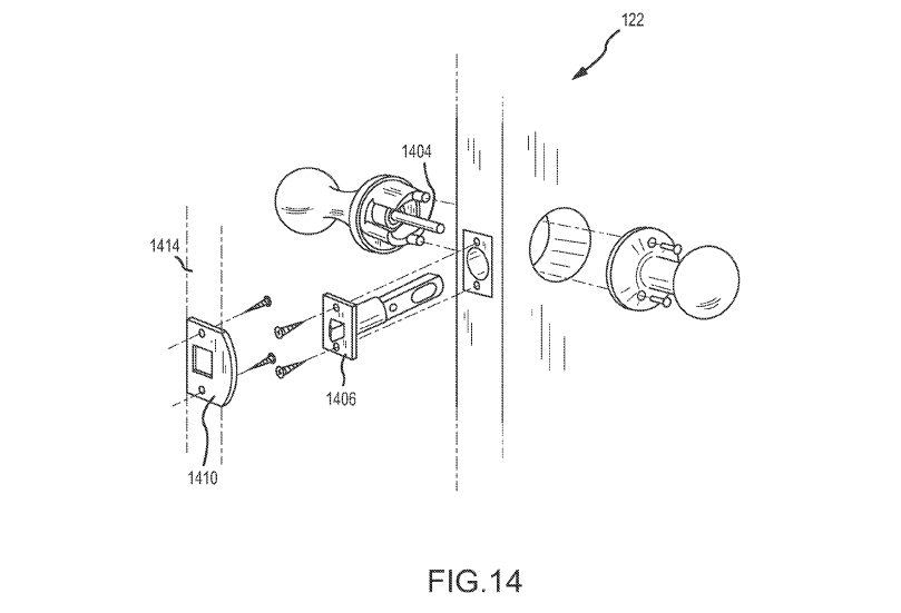 Patent details Google's ideas for smart home doorknobs