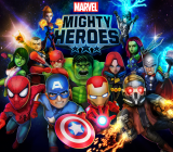 Marvel Mighty Heroes lets four heroes team up to take on Marvel villains.