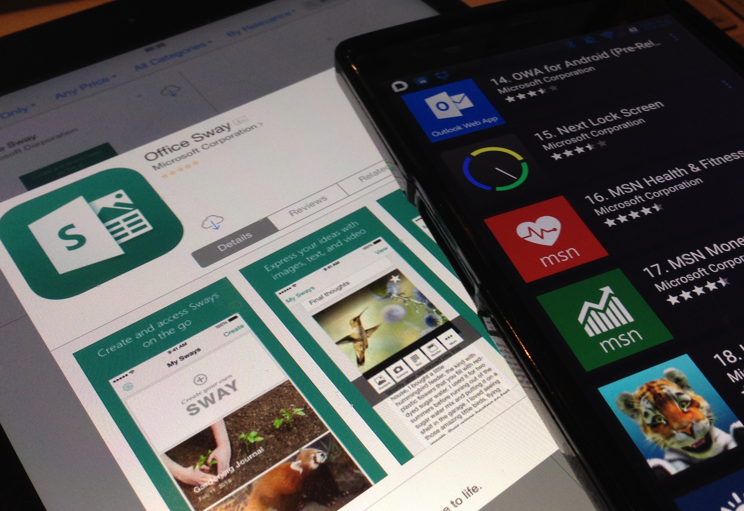 Microsoft on Mobile