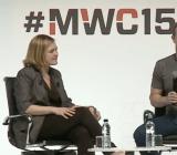 Facebook CEO Mark Zuckerberg at Mobile World Congress in Barcelona Monday.