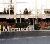 Microsoft campus sign