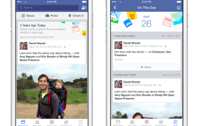Facebook unveiled 'On this day' today, a new feature that lets users re-discover posts from the past.