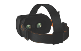 One of the Open Source VR headsets, which works with the WEARVR store.