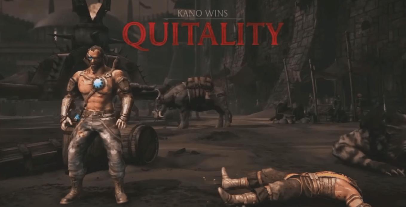 Mortal Kombat X Quitality