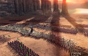 Dawn of Titans battle scene