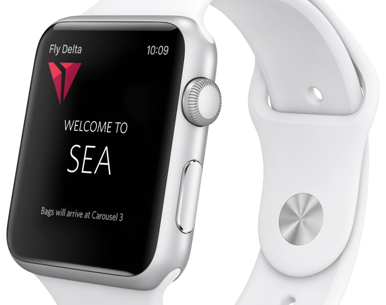 Delta and united will soon release apple watch apps exclusive