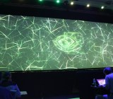 Stage at Nvidia GPUTech conference