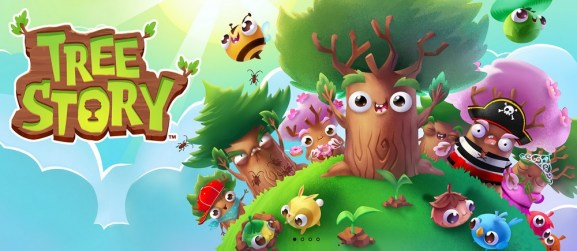 Tree Story lets you create virtual trees that lead to real-world plantings.