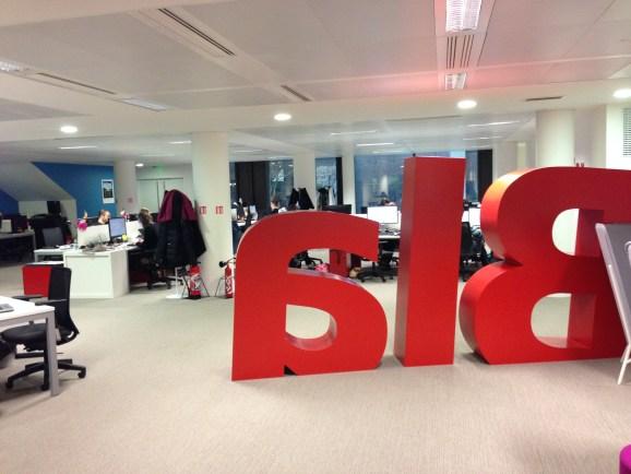BlaBlaCar's headquarters in Paris.
