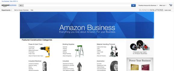 Amazon launches Amazon Business, sunsets AmazonSupply