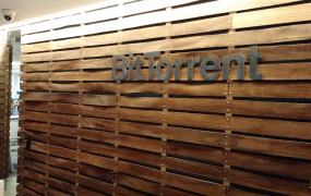 At BitTorrent headquarters in San Francisco.
