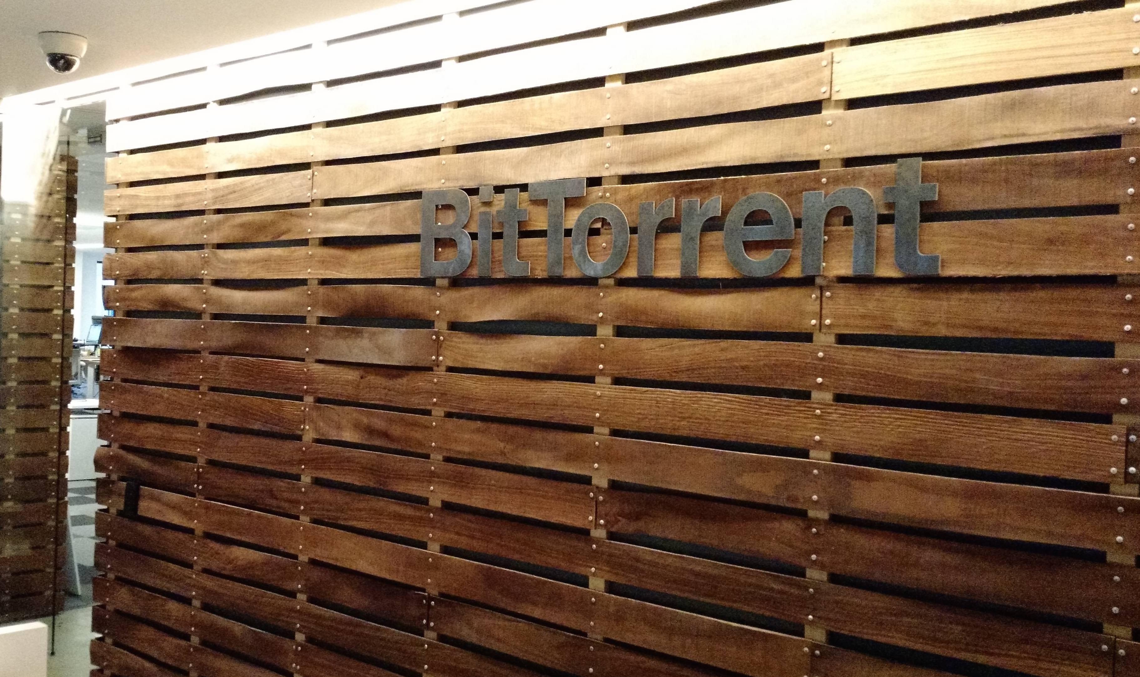 At BitTorrent headquarters in San Francisco.
