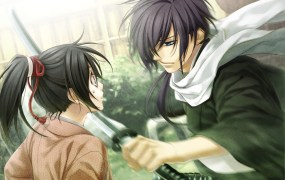 Hakuoki will feature lots of boys with fancy hair.