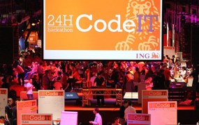 ING's CodeIT Hackathon last November in Amsterdam.