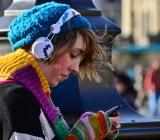 Listening headphones Garry Knight Flickr