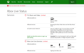 Xbox Live is having problems again.