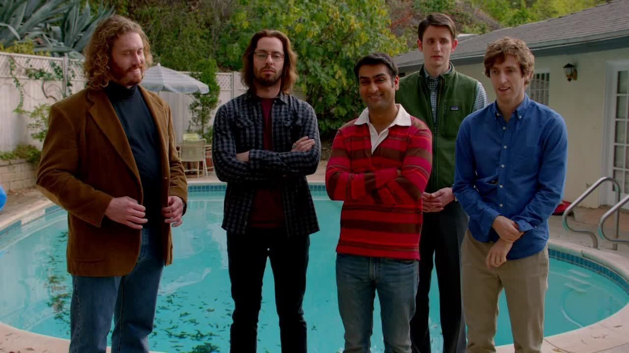 "The cast of HBO's ""Silicon Valley."""