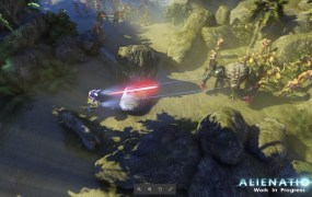 Alienation is a shoot and loot game.
