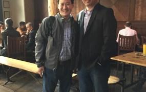 Chris Ko of This Game Studio and Michael Chang of NCSoft