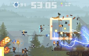 Sir Galahad in Super Time Force Ultra