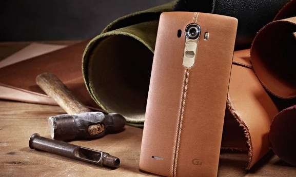 LG unveils new G4 smartphone, with pro camera features and curved leather back