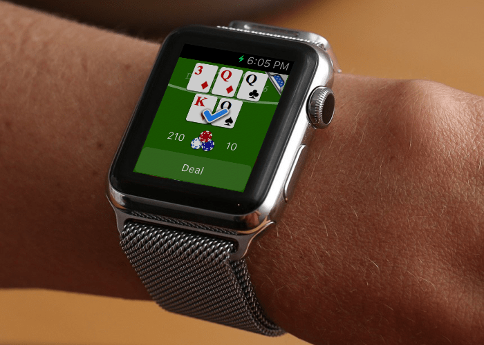 Blackjack Mini went through several prototypes to nail iPhone style animations.