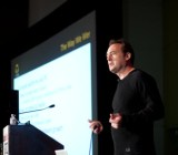 Steve Perlman, founder of OnLive, at GamesBeat conference in 2010.