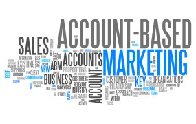 word cloud.account based marketing