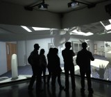 """WorldViz uses projectors to deliver a """"cave-like"""" virtual-reality experience."""