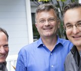 From left, Ignition Partners managing partners Frank Artale, John Connors, and Nick Sturiale.