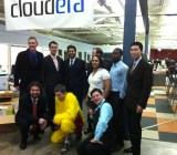 The Cloudera team in a 2010 picture.