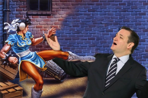 Texas Senator Ted Cruz wants to be the first U.S. president who grew up playing games.
