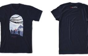 Destiny's charity T-Shirt.
