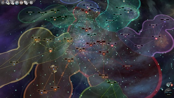 Endless Space map