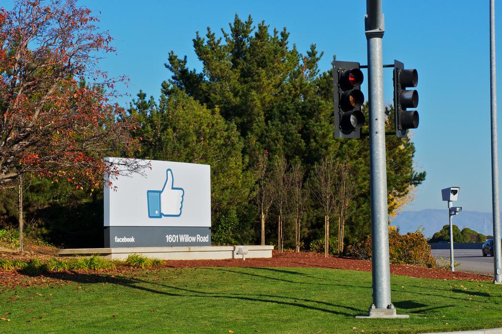 Facebook headquarters sign Nina Flickr