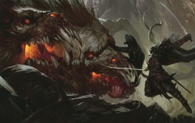 Drizzt Do'Urden takes on the foul demon lord Demogorgon.